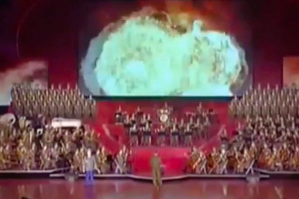 North Korea Drops Nuke On U.S. City In Terrifying Propaganda Video North Korea releases footage of ICBM destroying US in chilling WW3 warning