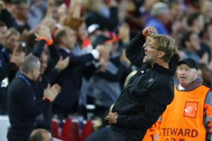 Image result for U Liverpool trash Hoffenheim  in 2nd leg to progress
