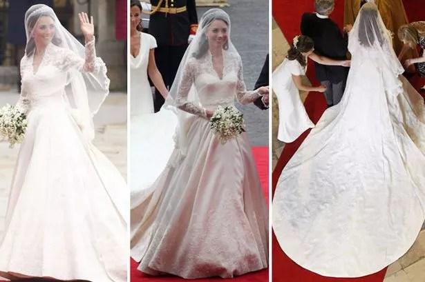 Kate Middleton's Wedding Dress Boosts Buckingham Palace