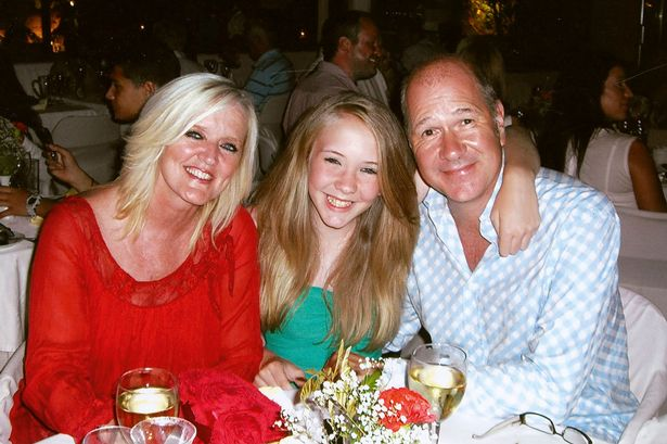 Bernie Nolan with her daughter Erin and husband Steve