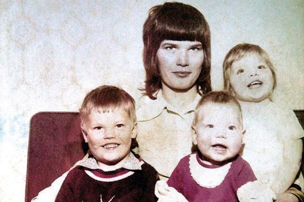 David McGreavy - The only photograph of Dorothy Urry and her children, who were murdered in 1973