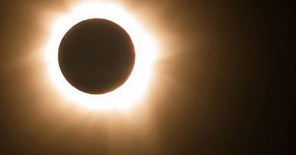 What time was the solar eclipse Date time and how to