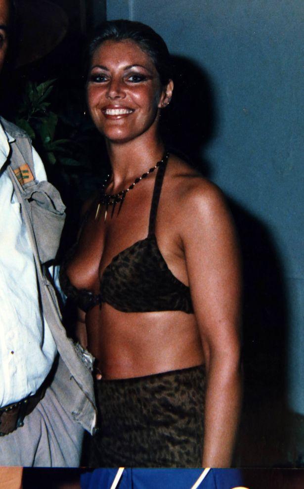 Patricia Moss (60) former model in Portugal in 1989
