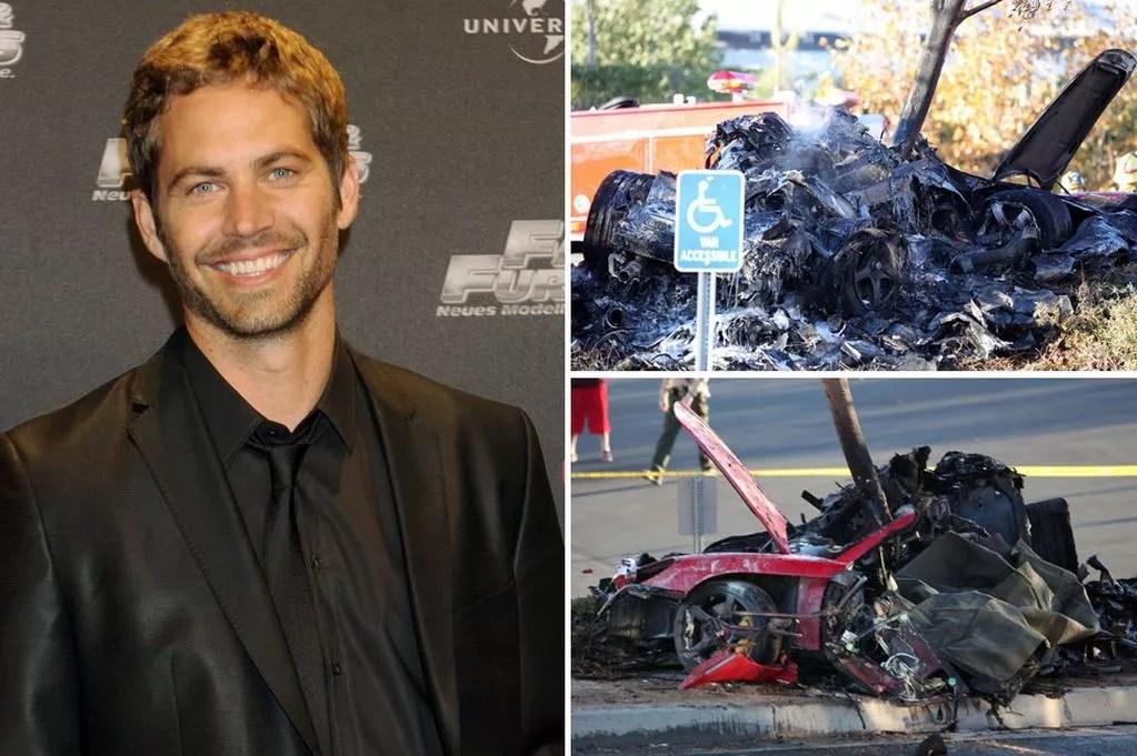 Fast and furious 6 paul walker car crash