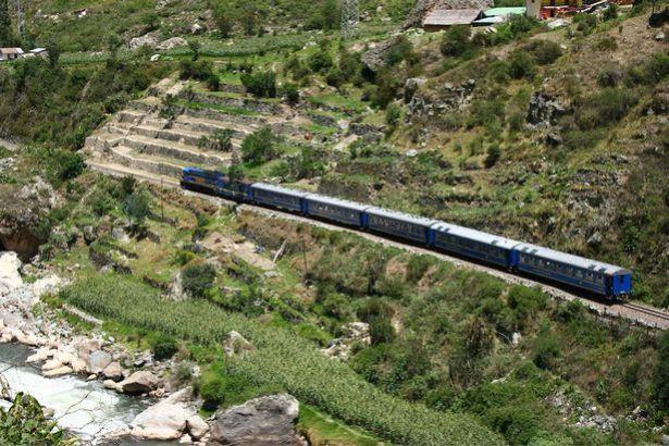 Machu Picchu train line
