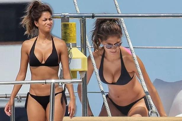 Nicole Scherzinger Bikini Pictures With Lewis Hamilton In