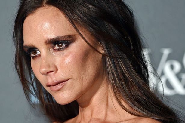 Victoria Beckham at the Alexander McQueen: Savage Beauty Fashion Benefit Dinner