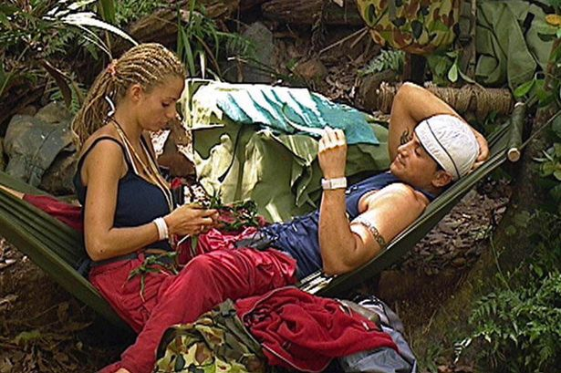 Katie Price and Peter Andre in When Jordan met Peter on Friday 12 November 2004