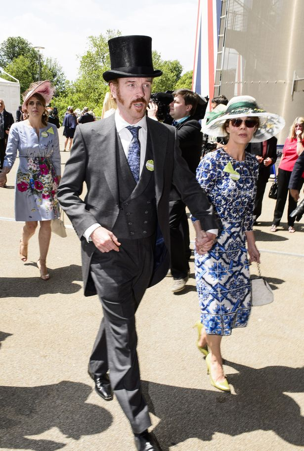 Damian Lewis and wife Helen McCrory