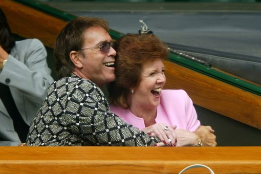 Sir Cliff Richard and Cilla Black