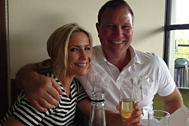 Heidi Range with her father Paul