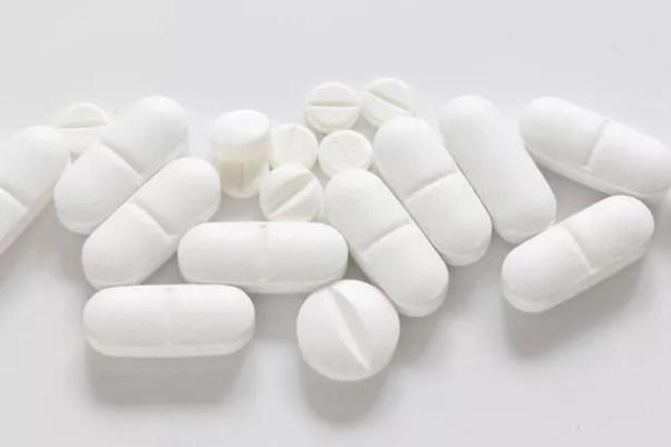 Píldoras en el mostrador