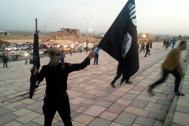 A fighter of the Islamic State