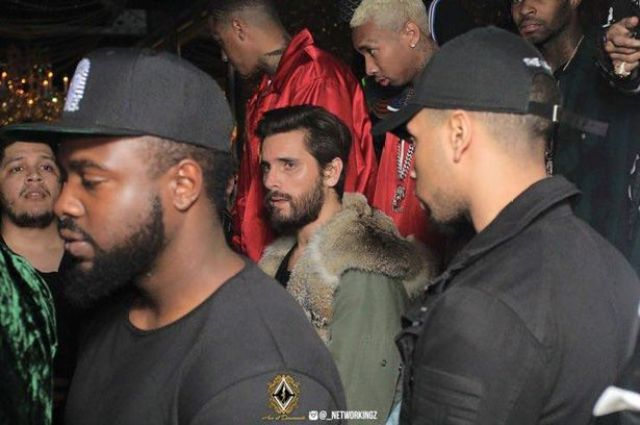 Scott Disick was just one of the Kardashian men at the party