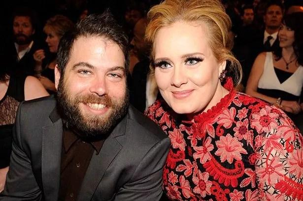 Adele and boyfriend Simon