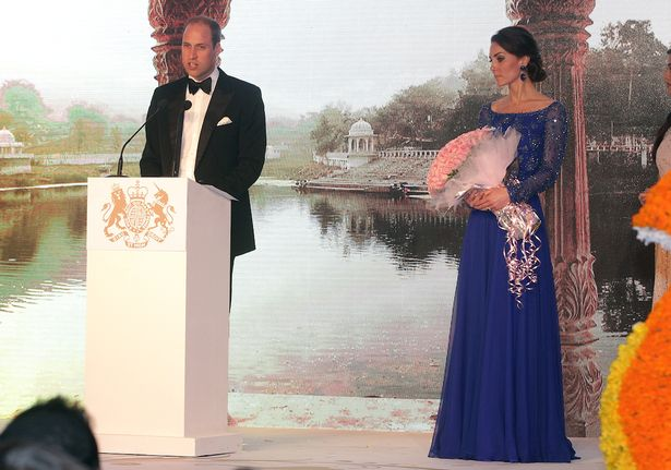Kate and Wills India tour