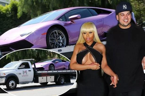 Rob Kardashian buys car for Blac Chyna