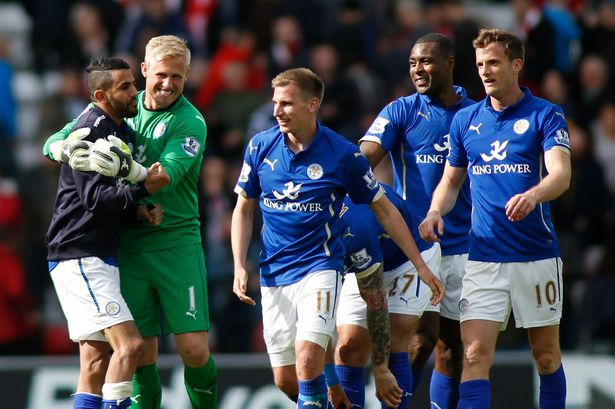 Leicester-City-Premier-League-Survival Leicester City players to be rewarded with £32k Mercedes for Premier League win