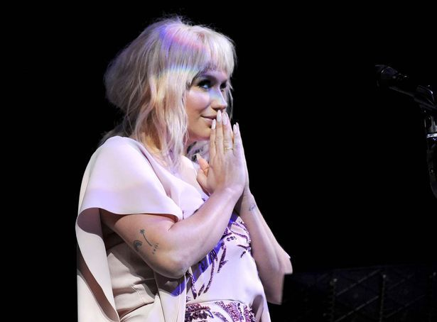 Singer Kesha performs onstage during The Humane Society of the United States' to the Rescue Gala at Paramount Studios on May 7, 2016 in Hollywood