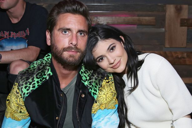 Scott Disick (L) and Kylie Jenner attend NYLON Young Hollywood Part