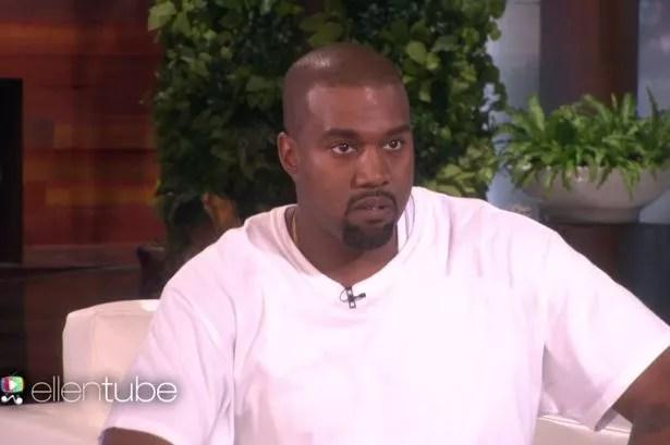 Kanye West on Ellen