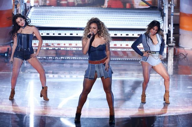 Fifth Harmony perform on the Britain's Got Talent Live Semi-Finals