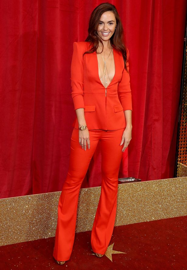 Jennifer Metcalfe attends the British Soap Awards 2016 at Hackney Empire