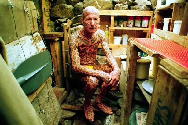 Tom Leppard LEOPARD MAN OF SKYE SCOTLAND, BRITAIN - 1993