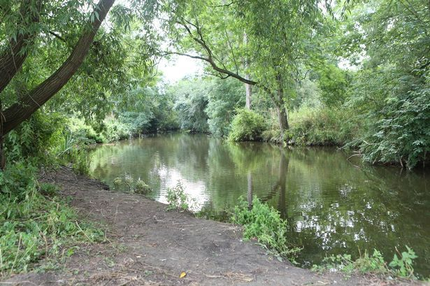 The River Great Ouse in the Queen's Park area of Bedford