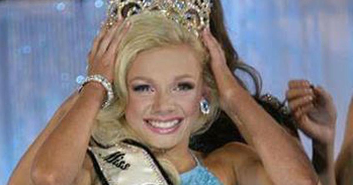 Its not like toddlers and tiaras Mum of 12yearold who beat hundreds to become pageant