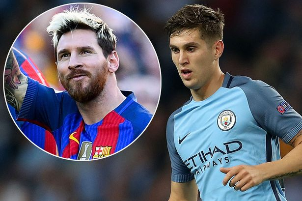Image result for Messi doesn't scare me, says Stones