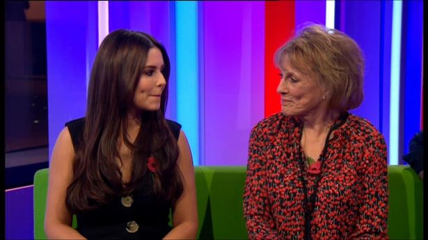 Cheryl on The One Show