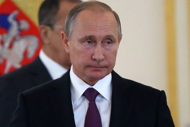 Vladimir Putin (pictured) called Donald Trump yesterday, the Kremlin said