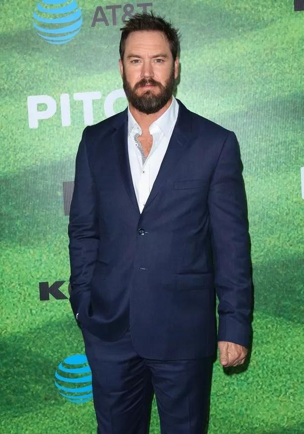 """Mark-Paul Gosselaar in Fox's new series """"Pitch"""""""