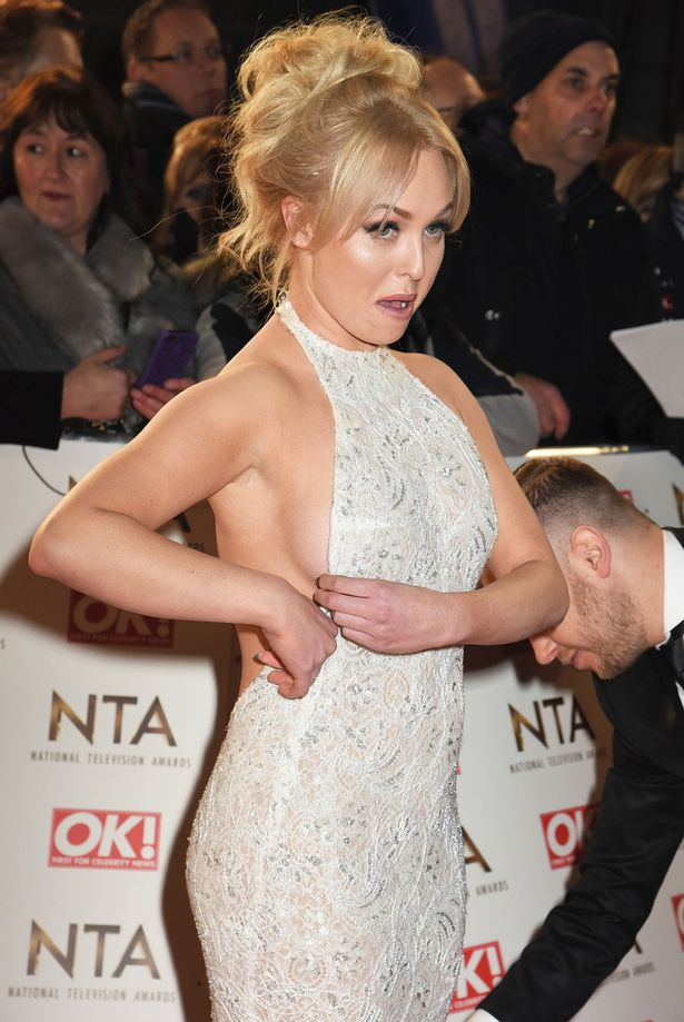 orgie Porter attends the National Television Awards at Cineworld 02 Arena on January 25, 2017 in London