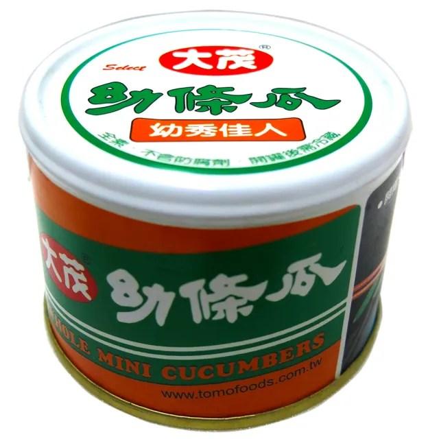 【大茂】幼條瓜-鐵罐    170g(X)