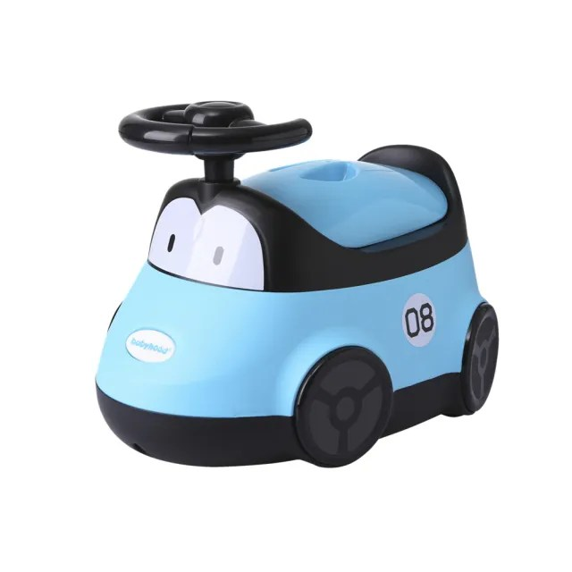 【babyhood】小汽車座便器(藍色)
