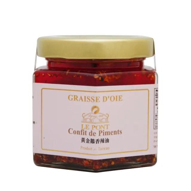 【PEKOE】樂朋LE PONT 黃金鵝香辣油(鵝油辣椒)