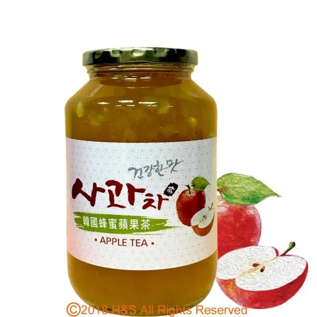 【韓廣】韓國蜂蜜蘋果茶(1kg)