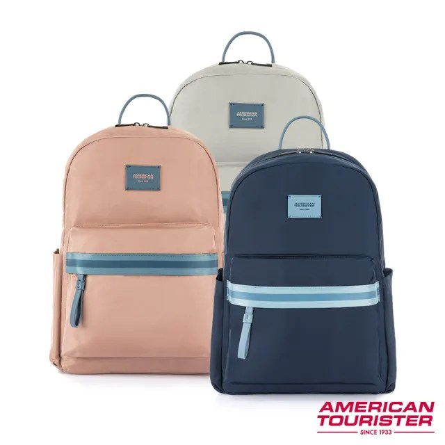 【AT美國旅行者】Mia輕量簡約筆電後背包14 多色可選(HL6)