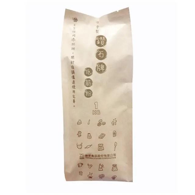 【德麥食品】日本製粉NIPPN 鑽石低筋麵粉1kg/包(日本進口 蛋糕西點用粉)