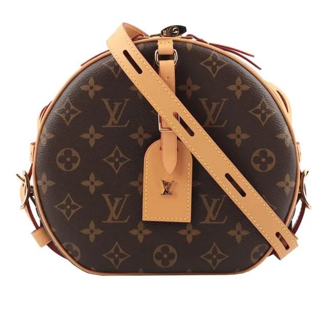 【Louis Vuitton 路易威登】Monogram BOITE CHAPEAU SOUPLE圓餅包(M52294)