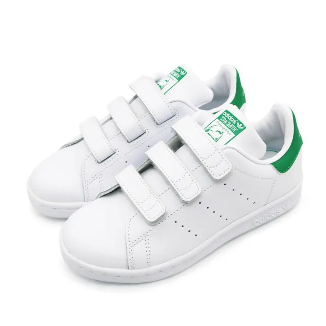 【adidas 愛迪達 】童鞋 STAN SMITH CF C 童 休閒鞋 白(M20607)