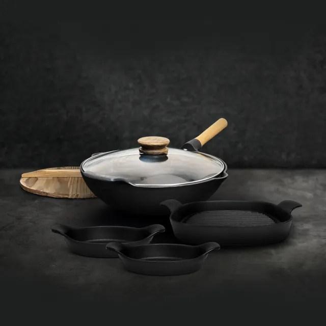 【雨文堂】南部鐵器百年傳承鑄造鍋具組