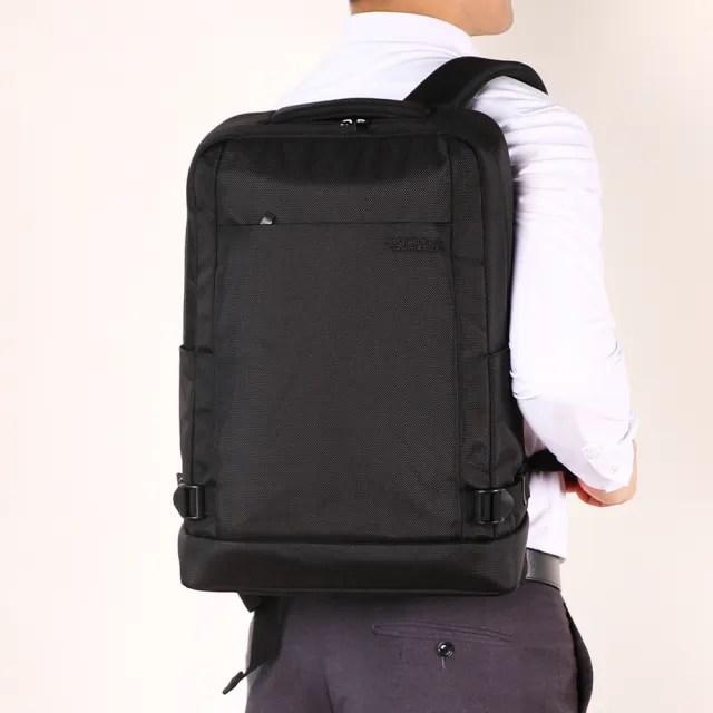 【AT美國旅行者】Milton 極簡實用筆電後背包 多色可選(DR9)