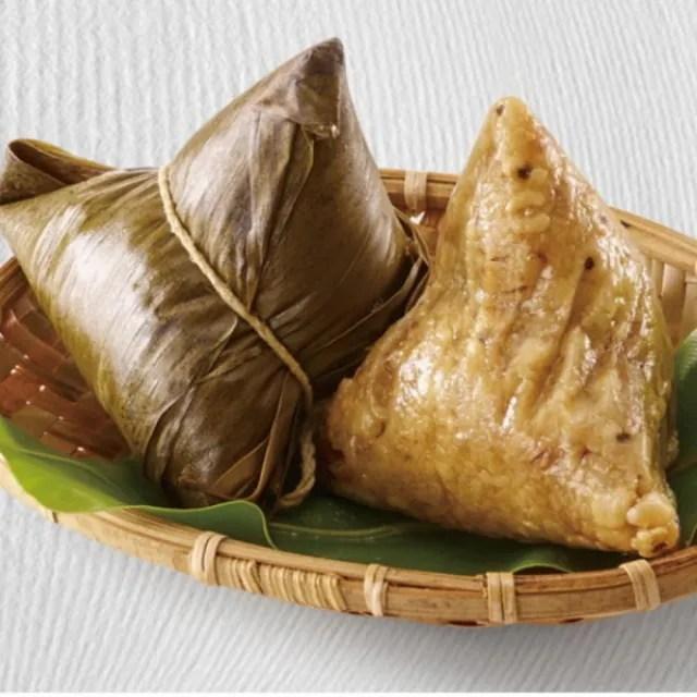 【品香肉粽】蓮子山藥肉粽10入+月桃葉花生粽10入+薏仁肉粽6入