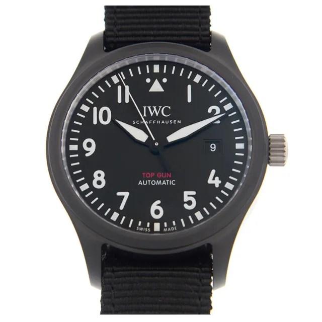 【IWC 萬國錶】馬克十八飛行員腕錶x黑x40mm(IW327009)