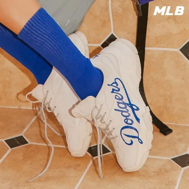 【MLB】厚底老爹鞋 增高鞋 Big Ball Chunky系列 洛杉磯道奇隊(32SHC2111-07W)