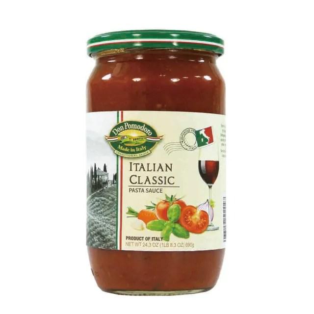 【Don Pomodoro】經典義式蕃茄義大利麵醬690gx1罐