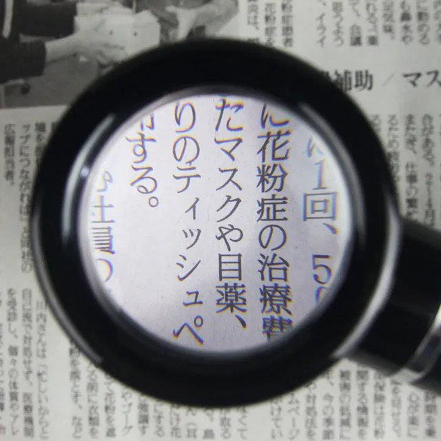 【I.L.K.】5x/50mm 日本製LED閱讀用立式高倍放大鏡(M-88)
